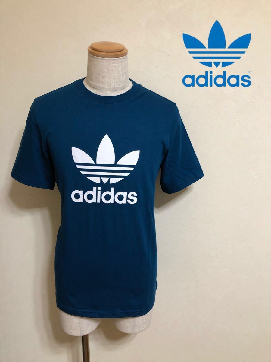 【新品】 adidas originals TREFOIL TEE アディダス オリジナルス トレフォイル ビッグロゴ Tシャツ サイズM LEGMAR 半袖 DV1603_画像1