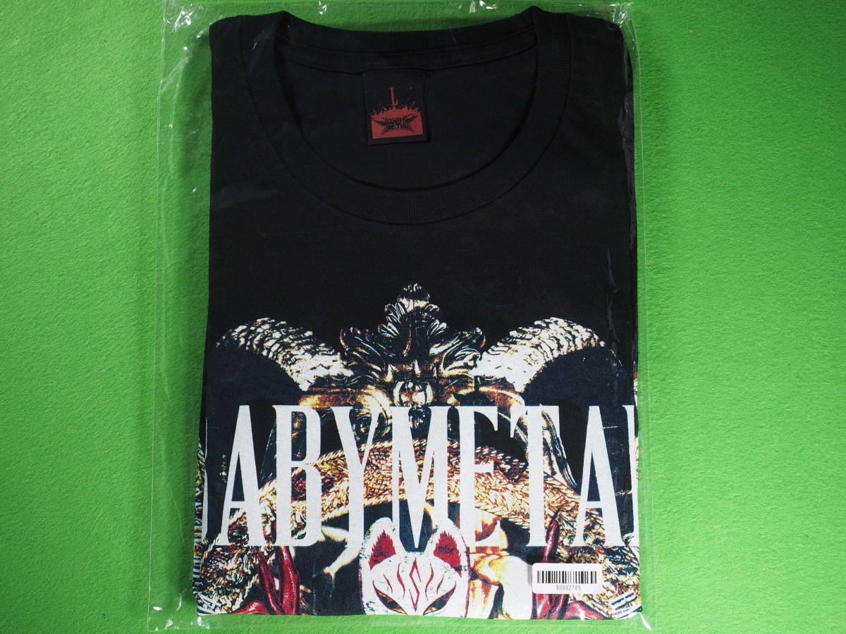 ☆★☆ BABYMETAL 「BACK TO THE USA/UK TOUR FFT ver.」TEE Lサイズ 新品・送料無料 ★☆★_画像1