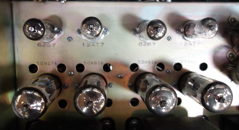 真空管パワーアンプ Technics EAA-2009 (SU-2009/SU-40A/Technics 40A ) テクニクス 動作良好_画像10
