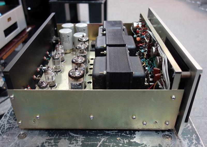 真空管パワーアンプ Technics EAA-2009 (SU-2009/SU-40A/Technics 40A ) テクニクス 動作良好_画像7