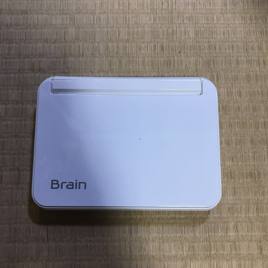 【電子辞書】◆SHARP◆ Brain PW-G5300 ホワイトカラー シャープ ブレイン 英語 国語辞典 和英 英和 #中古 動作確認済み_画像2