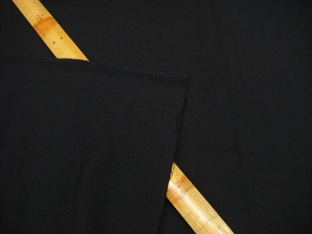 X2 生地・ポプリン・バーズアイ・ポリウレタン・ウール・無地・ストレッチ・ネイビー系・125cm巾・1.3m価格_画像4