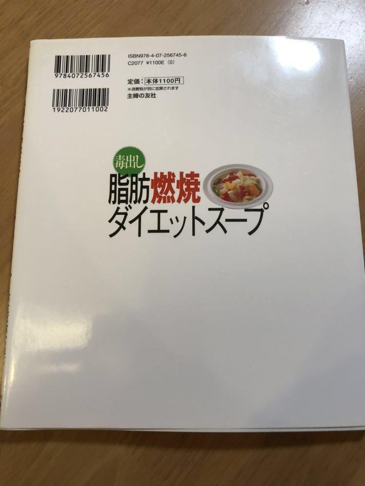岡本羽加 毒出し 脂肪燃焼 ダイエットスープ レシピ本 雑誌_画像2