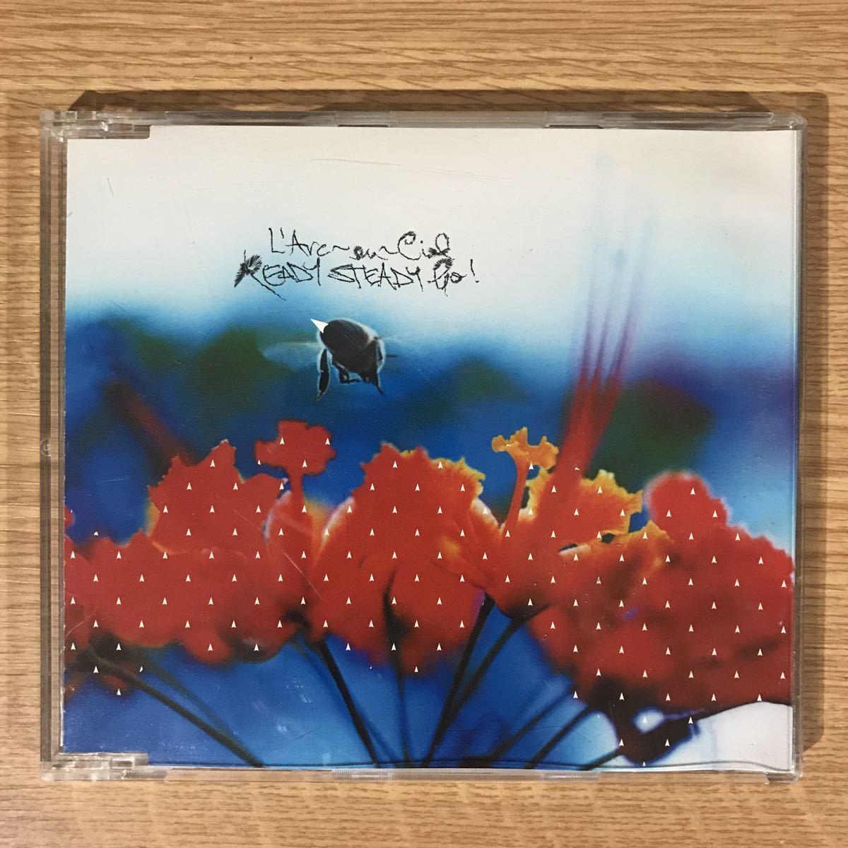 (75)中古CD100円 ラルクアンシエル READY STEADY GO_画像1