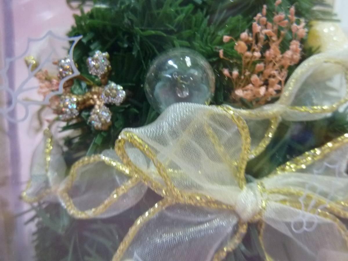 クリスマスツリー 飾り クリスマスリース(径31㎝)_画像8