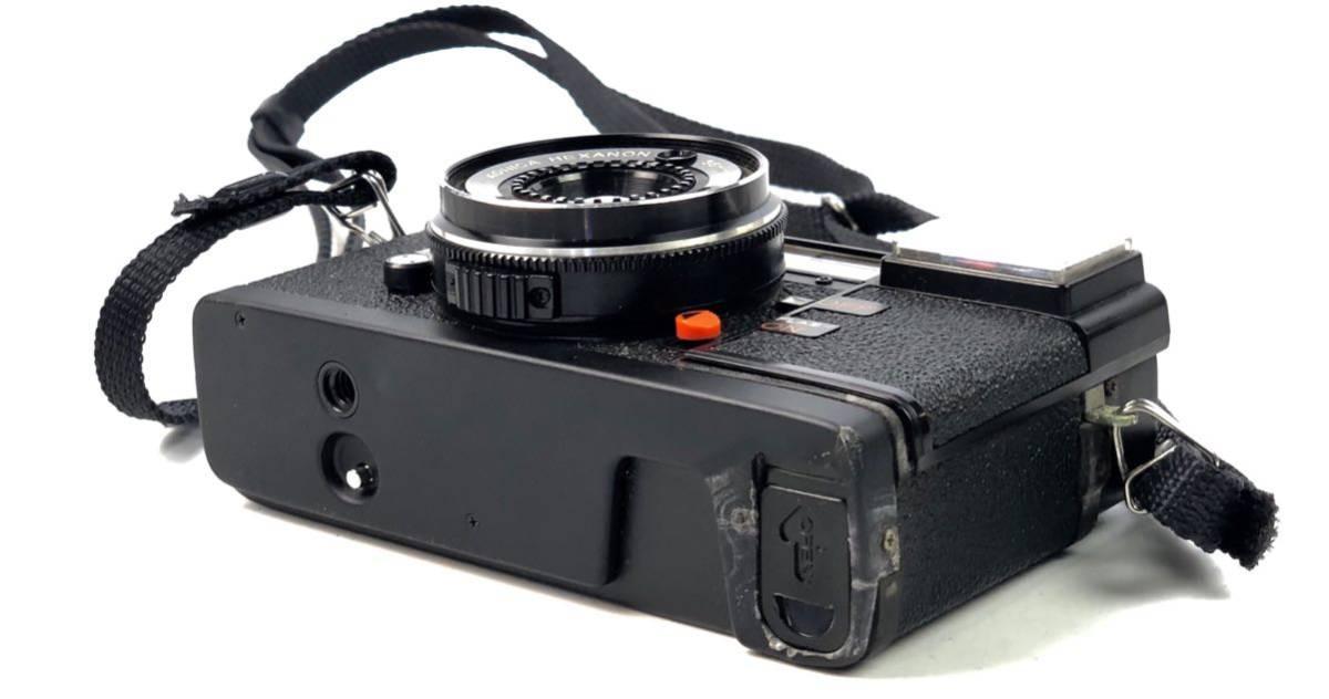未確認ジャンク扱い■KONICA/コニカ C35 EF HEXANON 38mm F2.8 φ46 フィルムカメラ ボディ レンズ付属■兵庫県姫路市発20 A2_画像5
