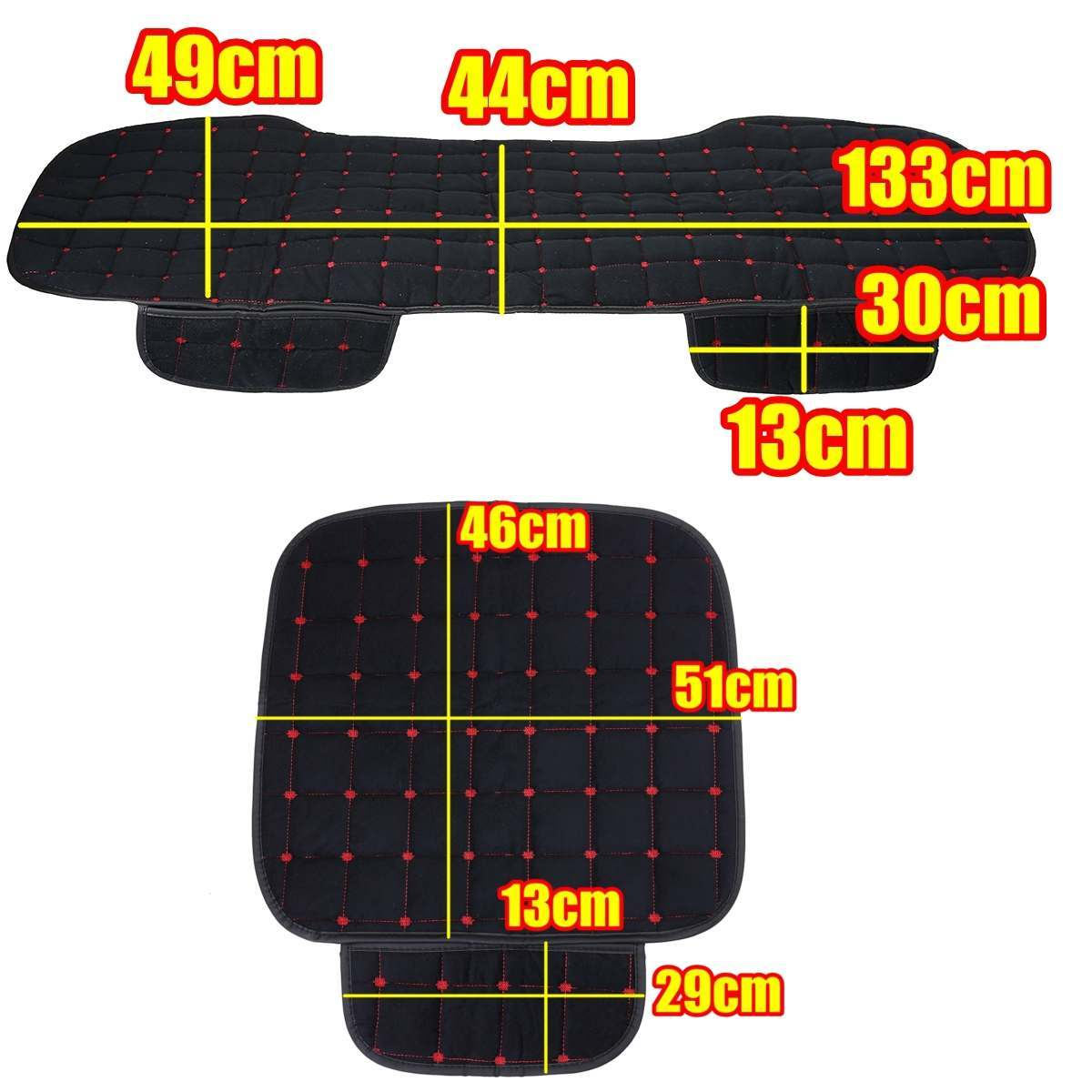 新品 カーシートカバー 車座席カバー 保護 カスタム 内装パーツ カーアクセサリー クッション シートプロテクター 汎用品_画像10