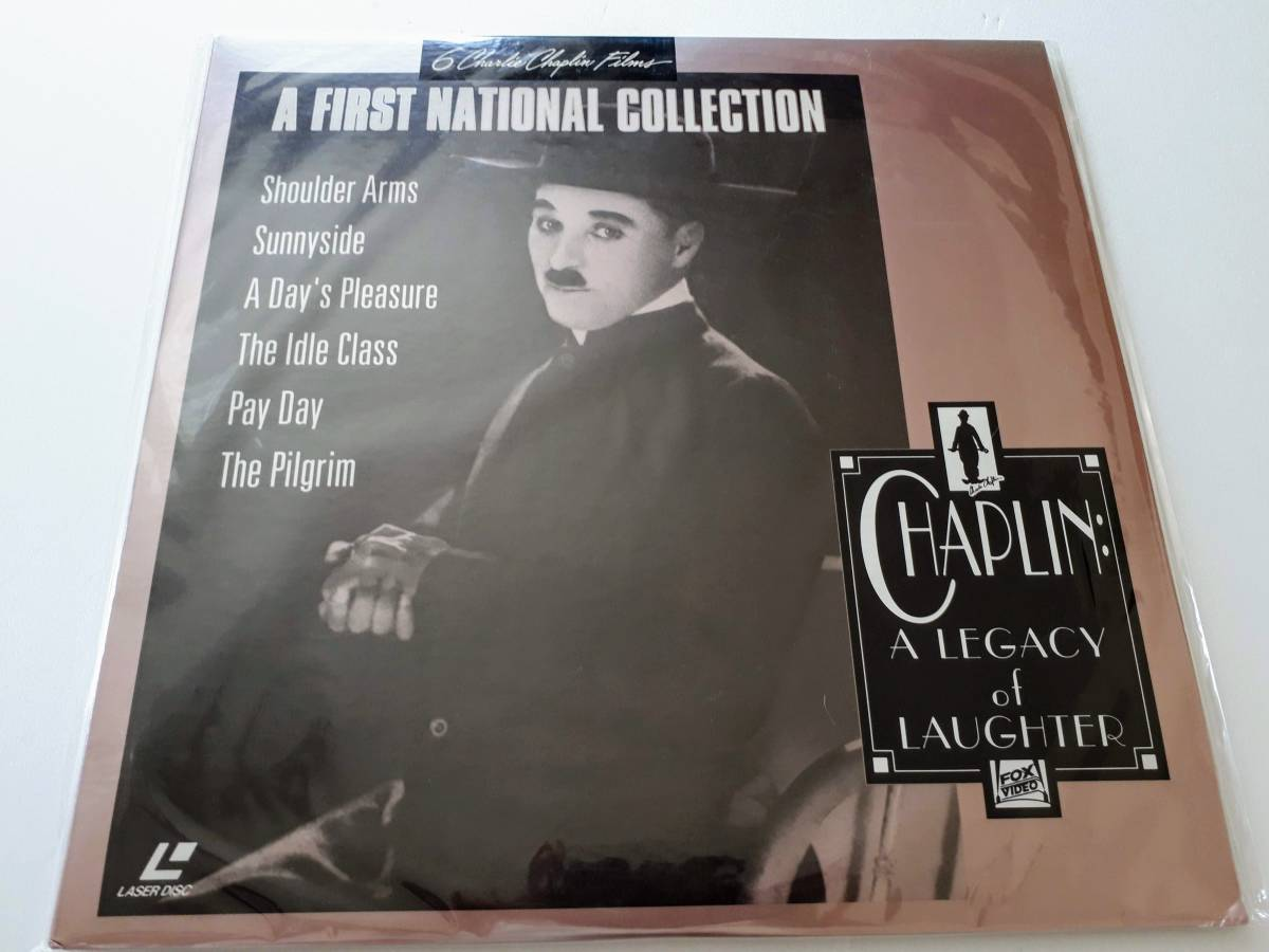 LD 輸入盤 チャップリン A FIRST NATIONAL COLLECTION CHAPLIN A LEGACY of LAUGHTER_画像1