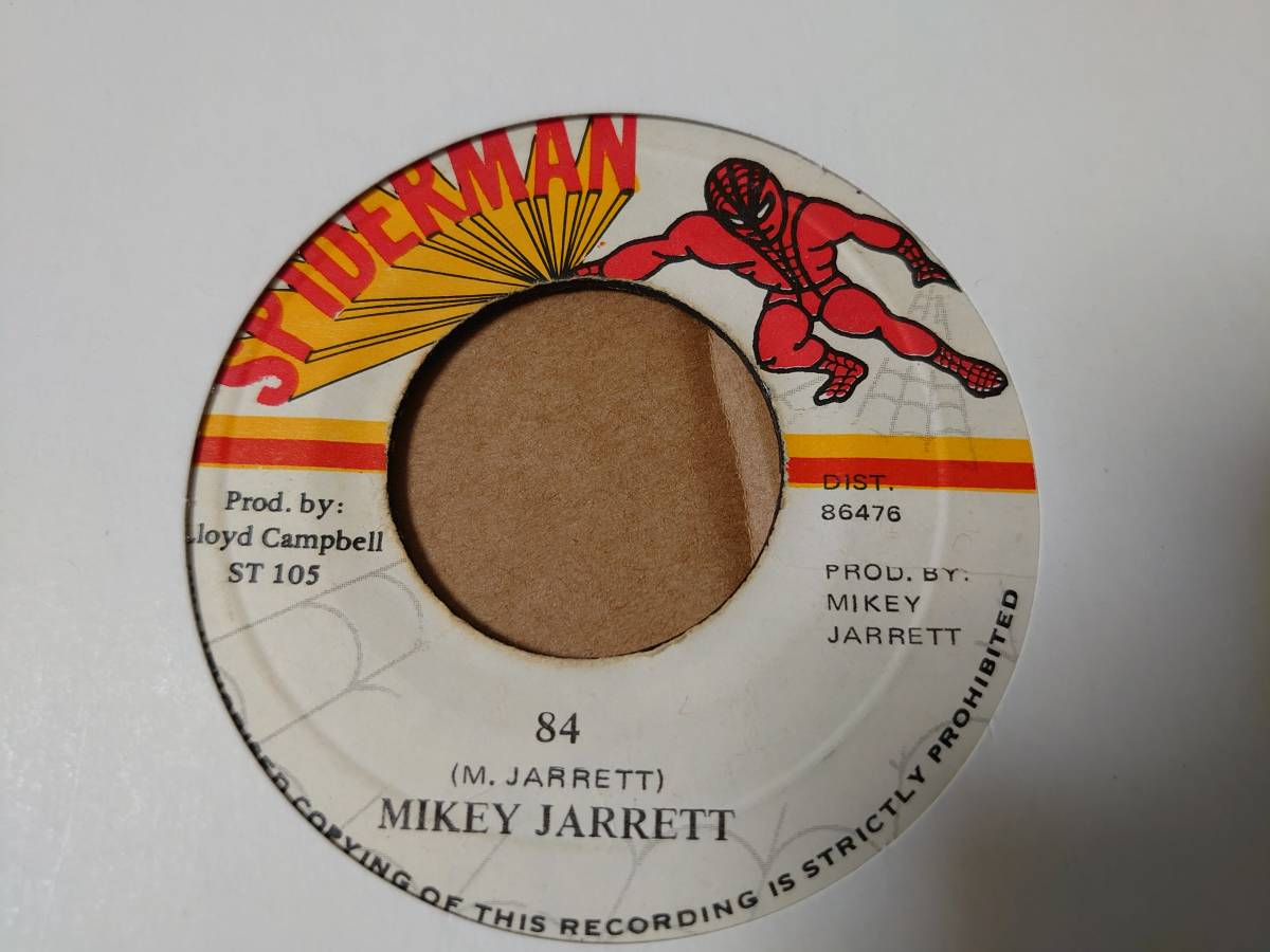 ★超絶レア★ Mikey Jarrett - 84 // Spiderman 7inch