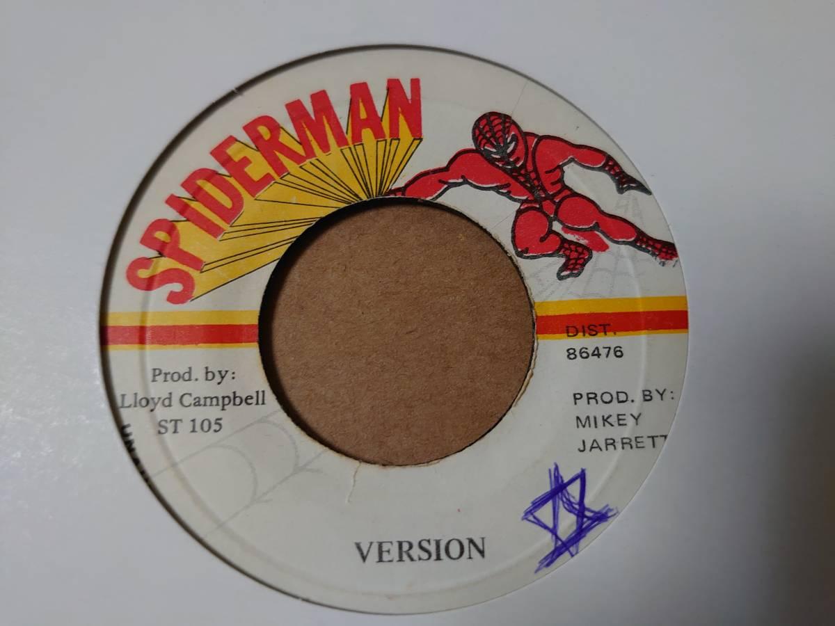 ★超絶レア★ Mikey Jarrett - 84 // Spiderman 7inch_画像2