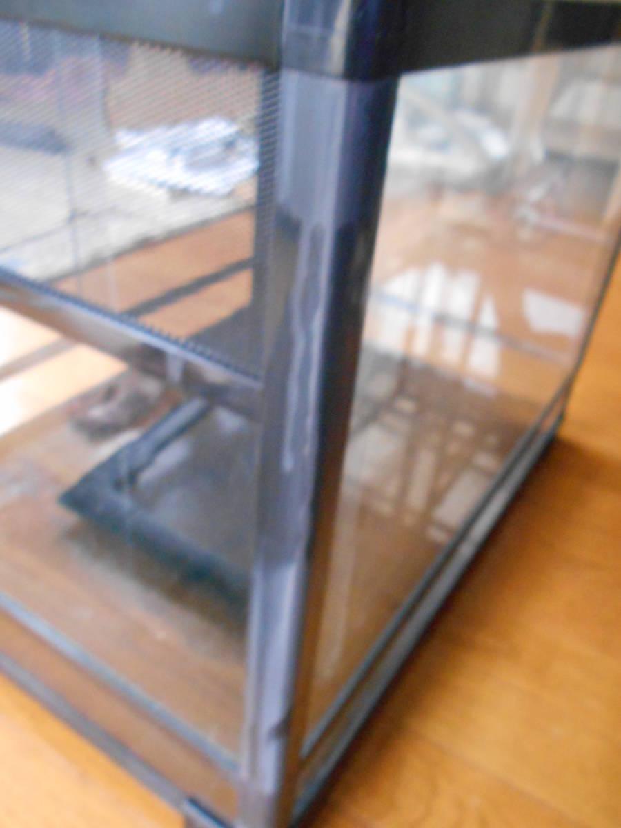 中古 三晃商会 パンテオンブラック BK6045 カエルトカゲヘビ爬虫類両生類 送料無料_画像7