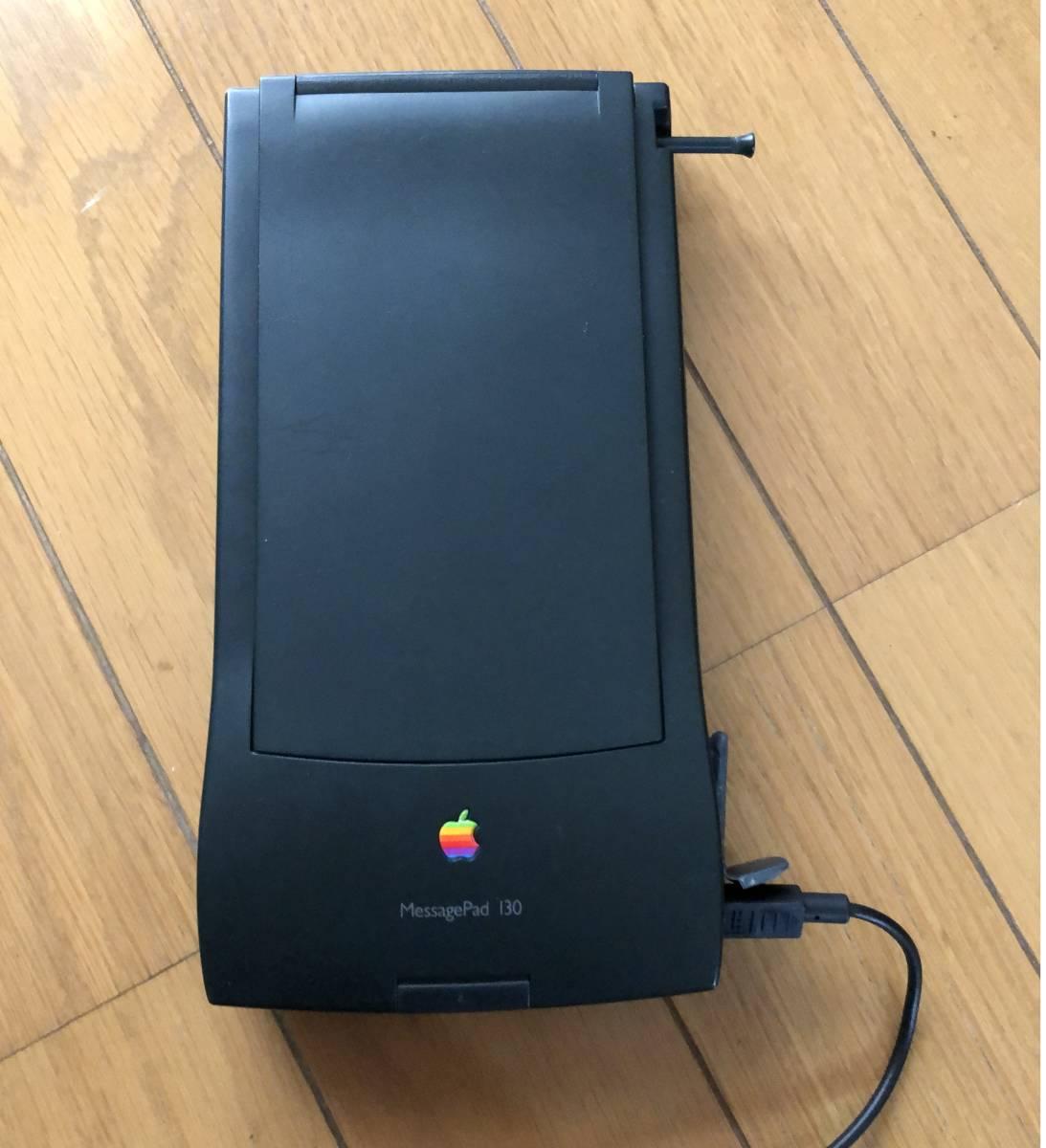 Apple Newton MessagePad 130 ACアダブタ 動作品 4MBメモリーカード付き_画像3