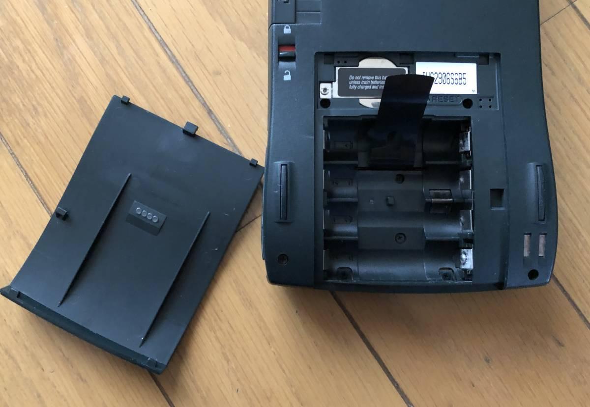 Apple Newton MessagePad 130 ACアダブタ 動作品 4MBメモリーカード付き_画像2