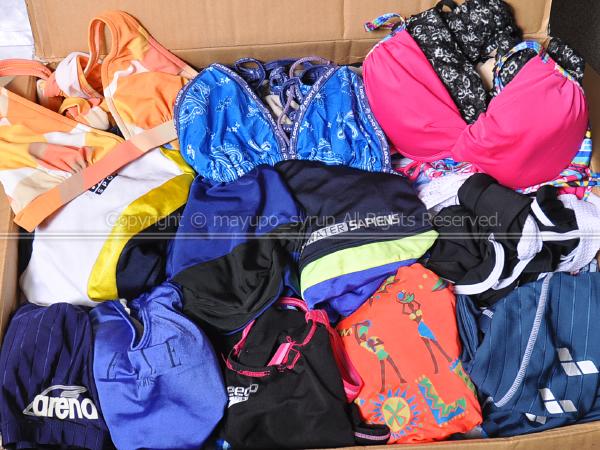 [大量] 女性 レディース ウィメンズ 水着 計100枚以上セット ワンピース・ビキニ・セットアップなど まとめ ジャンク