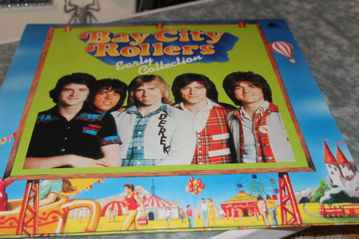 Ultra-rare Bay City Rollers / youth of the monument IES-500011-12 Toshiba EMI 1976
