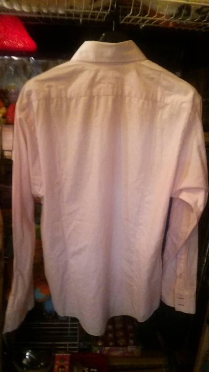 バーバリーBURBERRY BLACK LABEL ボタンダウンシャツ ワイシャツ 紳士服 ゴルフウエア ブランド _画像3