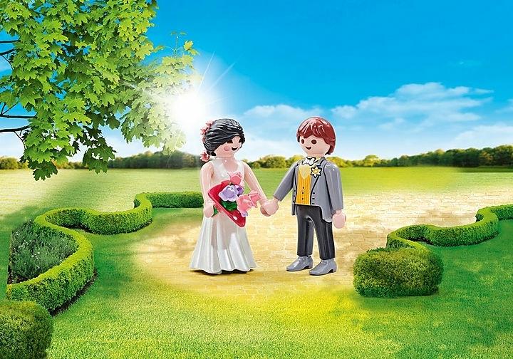■プレイモービル playmobil 9820 新婚夫婦■新品未開封■アドオン