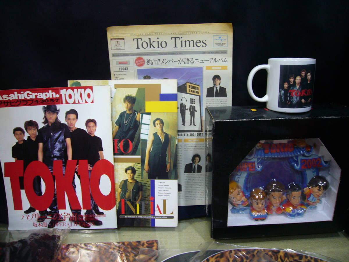 ARS書店☆【TOKIO】☆(トキオ)書籍・雑誌の切り抜きフアイル・グッズ類大量出品/最低落札価格有り/「TOKIOファスト写真集」1995年_画像2