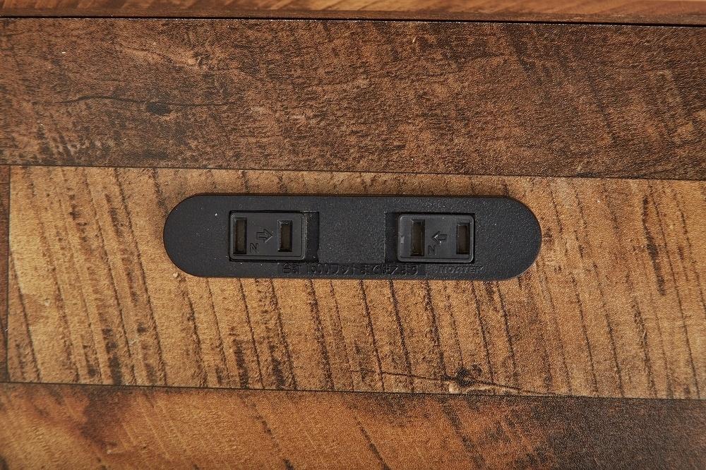【Cave】セミダブル 寄木柄ベッド 高品質マットレス付き_画像4