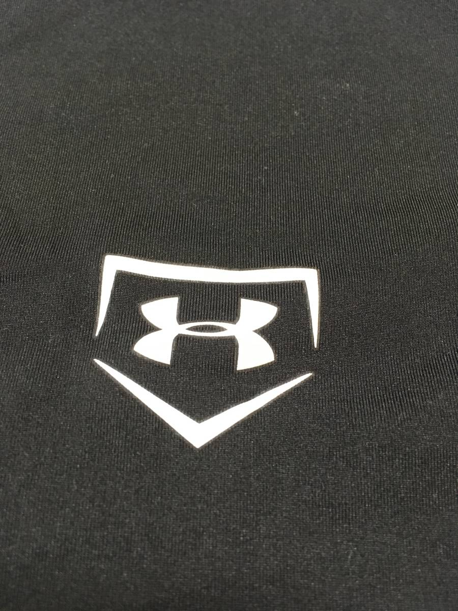 アンダーアーマー ベースボール アンダーウェア 野球 ドライ ストレッチ   Tシャツ ハイクオリティ UNDER ARMOUR◯1332 石_画像5