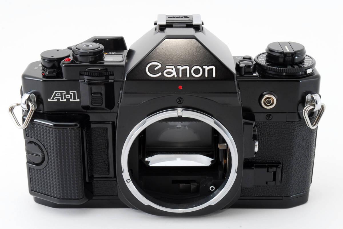 ☆美品 動作正常☆ Canon A-1 キャノン A1 フィルム 一眼レフ カメラ キヤノン_画像2