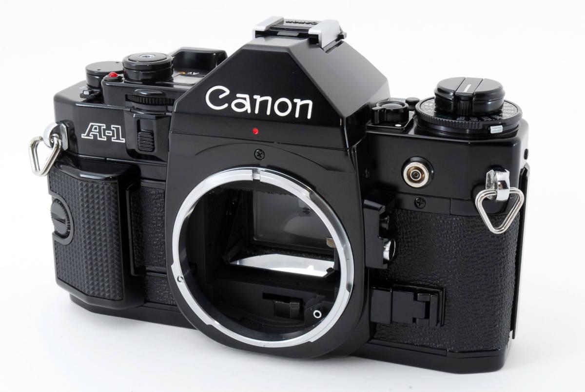 ☆美品 動作正常☆ Canon A-1 キャノン A1 フィルム 一眼レフ カメラ キヤノン