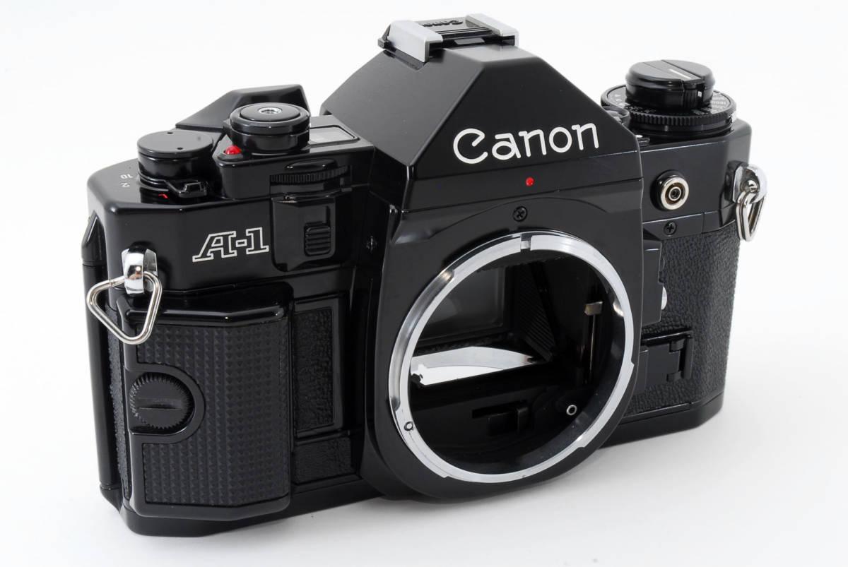 ☆美品 動作正常☆ Canon A-1 キャノン A1 フィルム 一眼レフ カメラ キヤノン_画像3