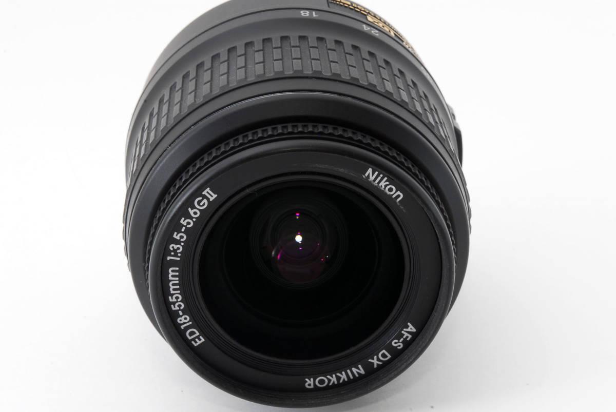 ☆美品☆ Nikon AF-S DX Zoom Nikkor 18-55mm f3.5-5.6 G ED II ニコン オートフォーカス AF S ズーム レンズ LENS_画像4