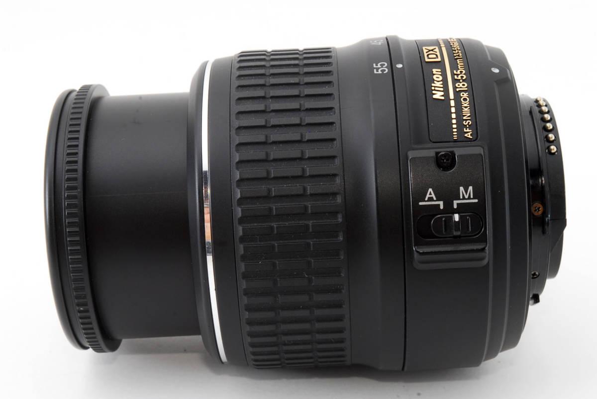 ☆美品☆ Nikon AF-S DX Zoom Nikkor 18-55mm f3.5-5.6 G ED II ニコン オートフォーカス AF S ズーム レンズ LENS_画像9