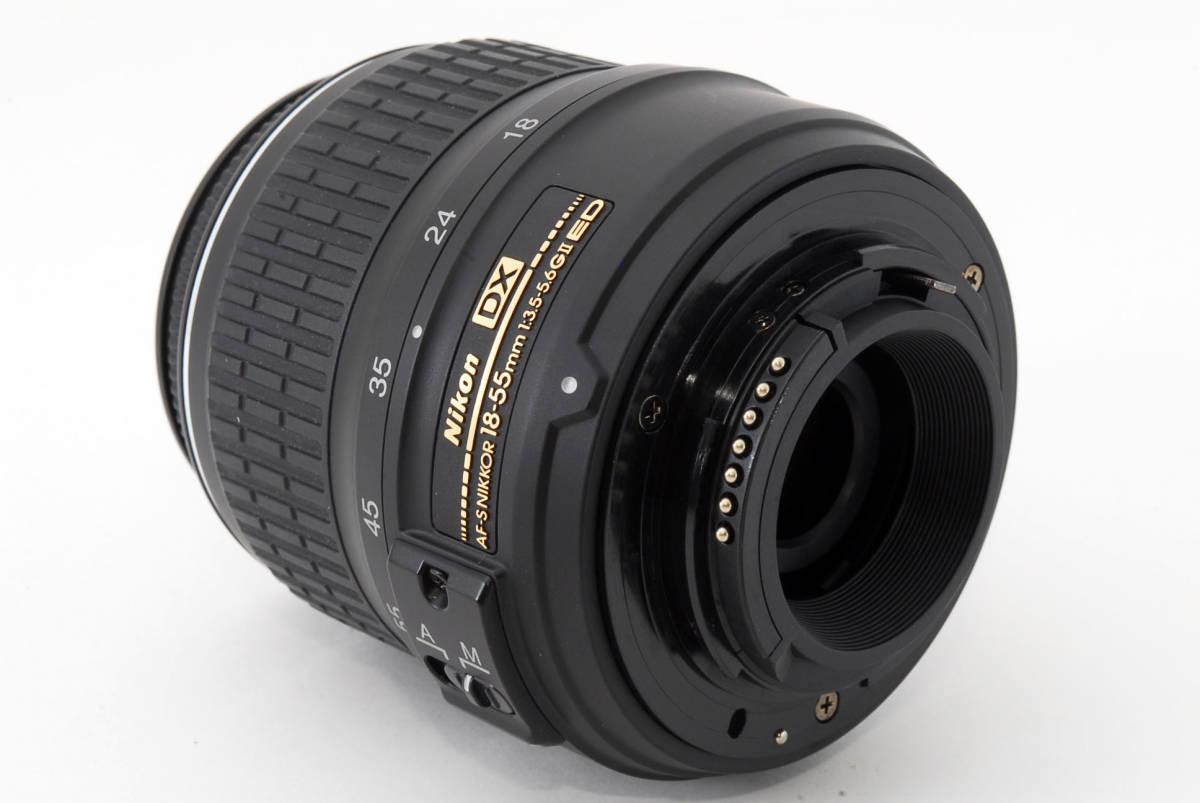 ☆美品☆ Nikon AF-S DX Zoom Nikkor 18-55mm f3.5-5.6 G ED II ニコン オートフォーカス AF S ズーム レンズ LENS_画像8