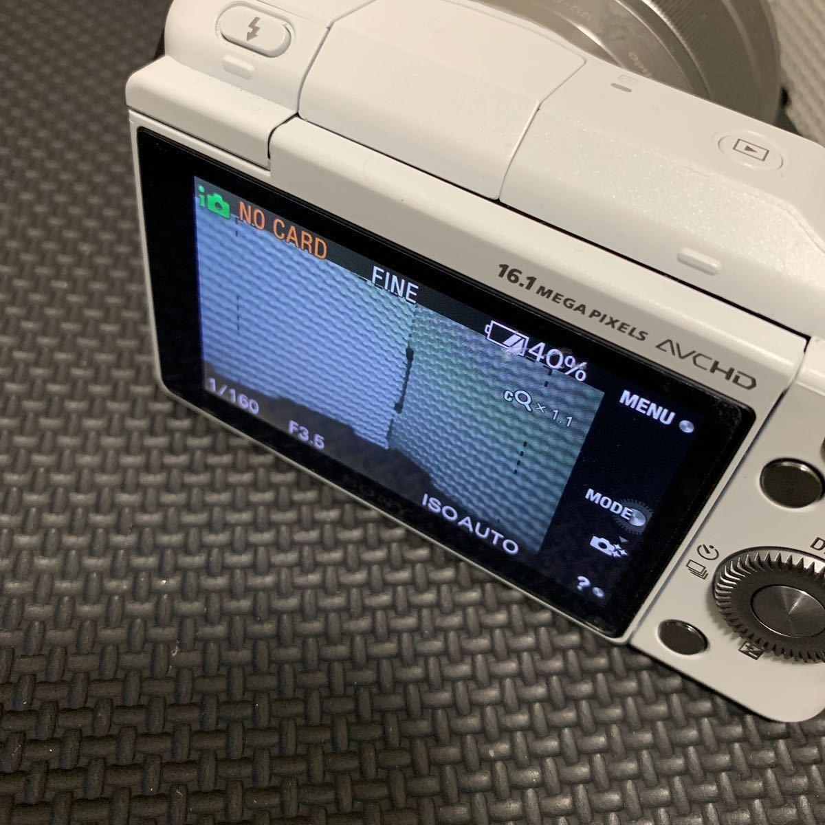 SONY NEX-3N ミラーレス一眼 簡易動作確認済み_画像3
