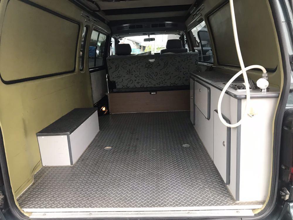 ロータスRV トランポ H11年式 ハイエースキャンピング 車検付 バンクベッド ディーゼルターボ 1KZ_画像4