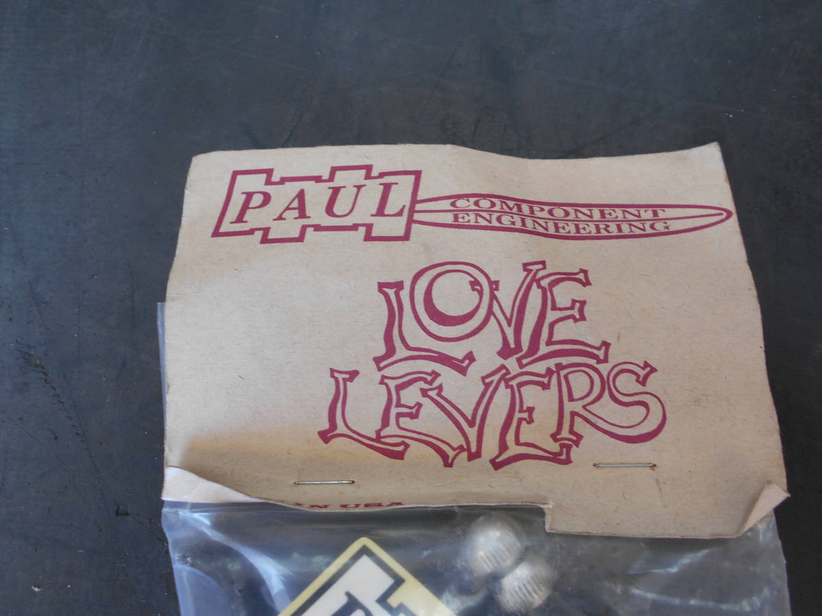 PAUL LOVE LEVERS MADE IN USA ブラック_画像3