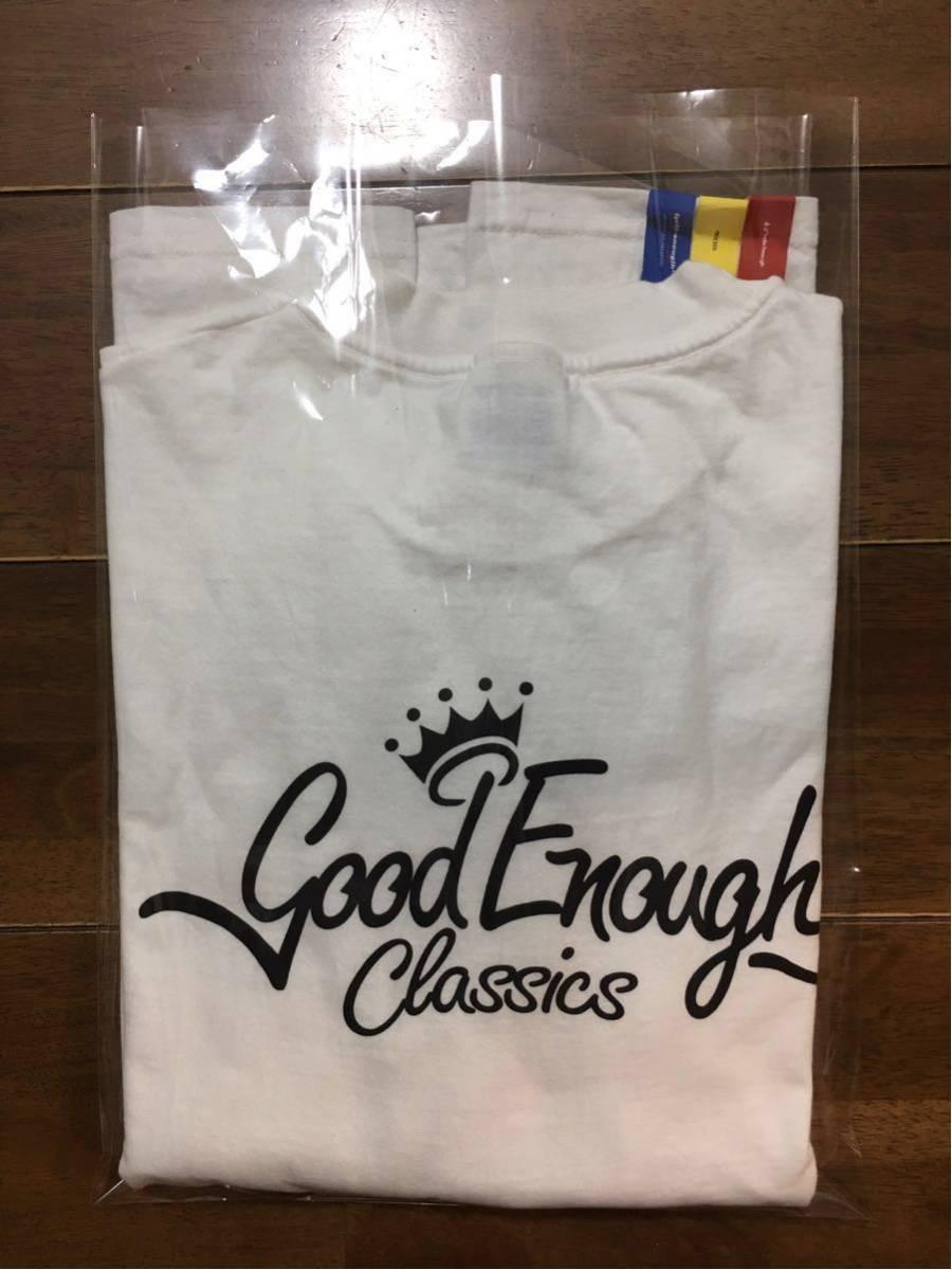 【90s 初期 オリジナル】GOOD ENOUGH Classics ロンT L オリジナル OLD ヴィンテージ アンダーカバー グッドイナフ エイプ 白_画像8