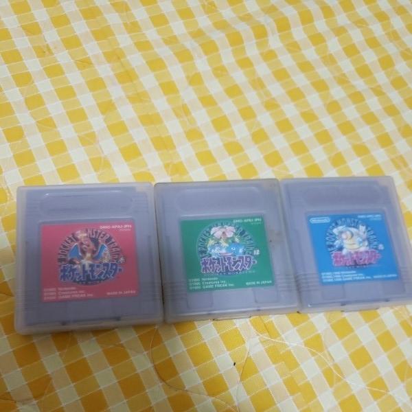 任天堂 Nintendo ニンテンドー GAME BOY ゲームボーイ 初期型 7点 ソフト3本セット DMG-01 当時物 中古 動作OK ジャンク_画像5