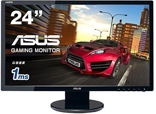 1円スタート ASUS VE248HR ゲーミングモニター 24型フルHD 1ms応答速度
