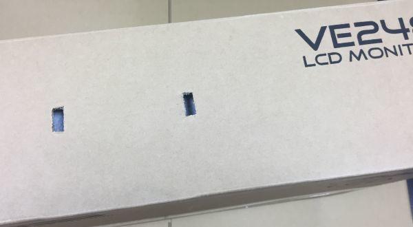 1円スタート ASUS VE248HR ゲーミングモニター 24型フルHD 1ms応答速度_画像9