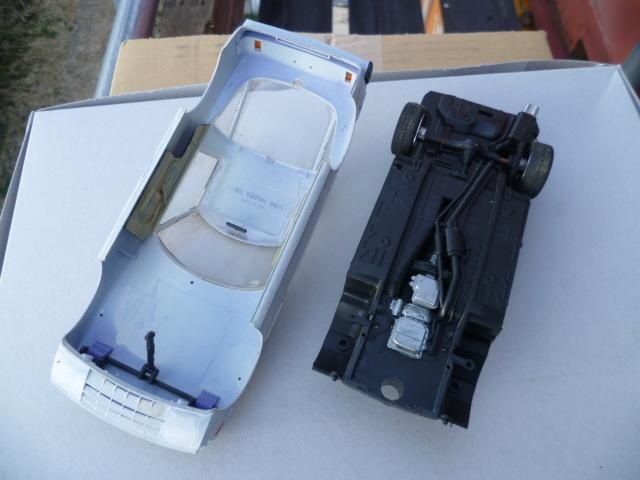 タミヤ1/24 SA22C 初代RX-7 レアな前期 ジャンク 設計図、未使用デカール付き 実質即決_画像4