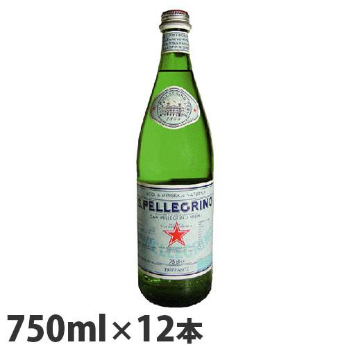 〇即決最安値挑戦サンペレグリノ(s.pellegrino) 炭酸水750mL瓶×12本入 正規輸入品水(2ケースを1まとめに1ケース12本に)◆_画像1
