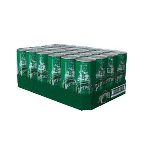 ◆即決最安値挑戦ペリエPerrier ナチュラル 炭酸水(330mL×48缶入)【正規輸入品(2ケースを1まとめに1ケース48本に)◆_画像3