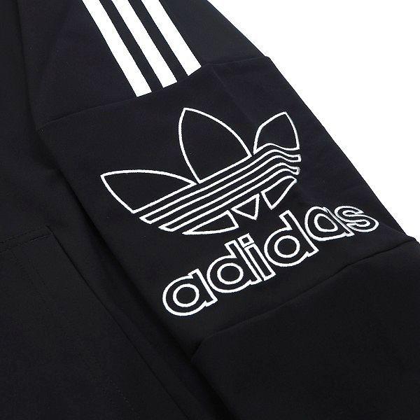 新品 adidas Originals アディダス オリジナルス セットアップ 上下セット フルジップ パーカー パンツ ビッグロゴ O ブラック D228_画像6