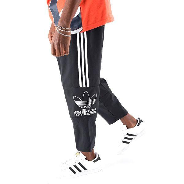 新品 adidas Originals アディダス オリジナルス セットアップ 上下セット フルジップ パーカー パンツ ビッグロゴ O ブラック D228_画像10