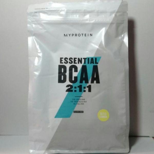 BCAA パウダー ビターレモン 味 1kg 送料520円 新品 未開封 MYPROTEIN マイプロテイン 分岐鎖アミノ酸 2:1:1_画像1