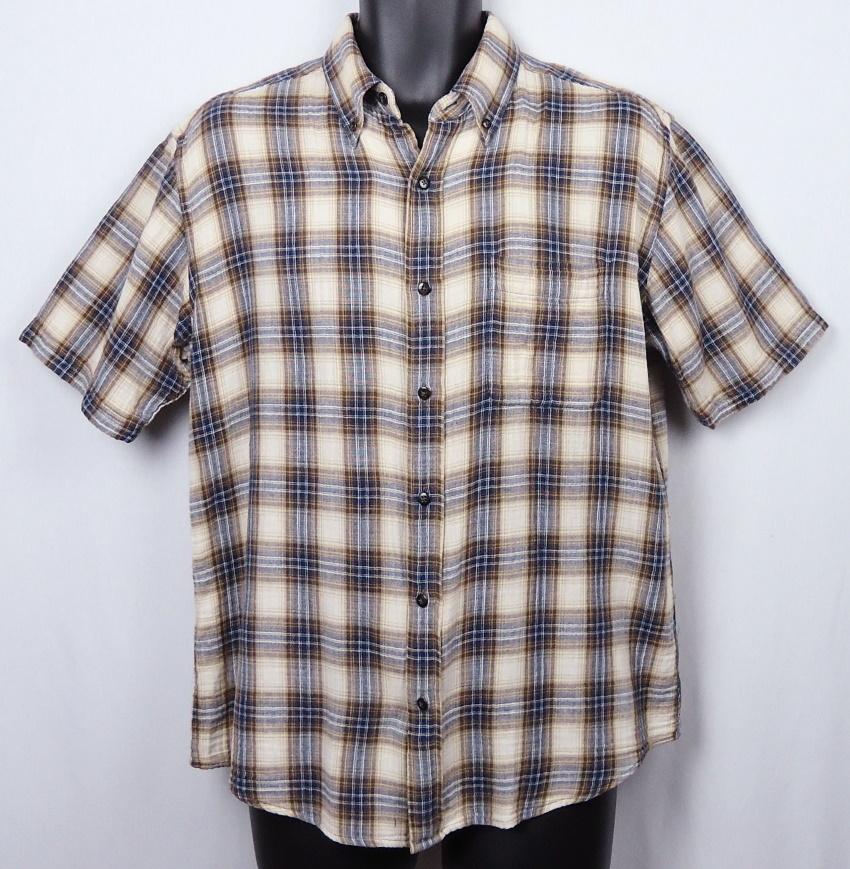 《郵送無料》■Ijinko★エディーバウアー Eddie Bauer ★ M サイズ半袖シャツ