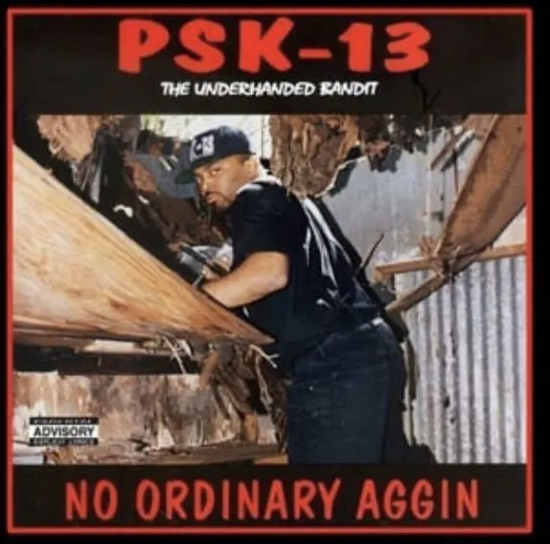 G-RAP PSK-13 (LP) with poster