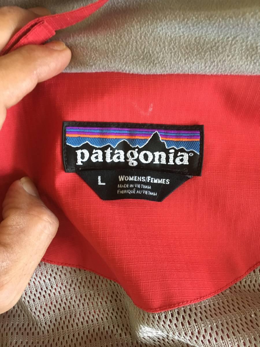 patagonia パタゴニア h2no ストームジャケット L/マウンテンパーカー アルパインジャケット スーパープルマ 登山 キャンプ 大きいサイズ_画像3