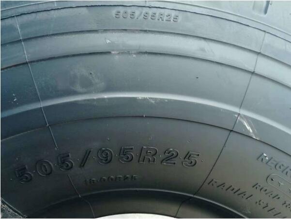 ラフター、ショベル用ORタイヤ HILO 505/95R25 (18.00R25) (B05N) _画像3