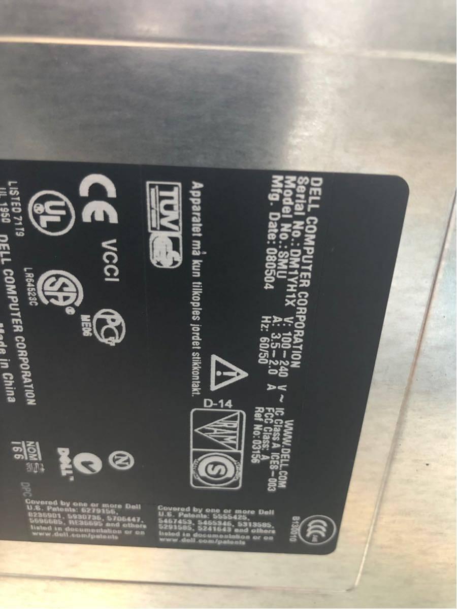 【千葉】中古 ラック 型 サーバー 7台 本体 Power Edge DELL 750 デル パワーエッジ サーバ パソコン マザーボード_画像8