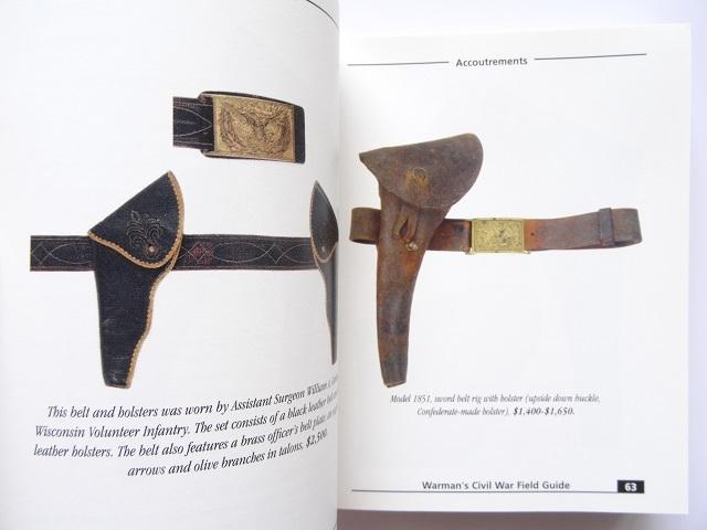 洋書◆南北戦争 装備品写真集 本 軍服 制帽 勲章 ライフル サーベル ボタン_画像3