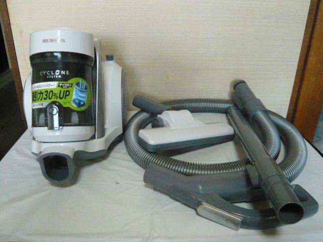 ** アイリスオーヤマ サイクロン掃除機 IC-C100-W 美品 2018年製 **
